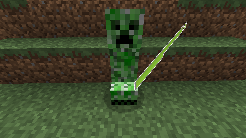 creeper with saoc health bar